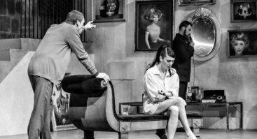 """J.Miltinio dramos teatro neįtikėtina istorija """"VYRAS SPĄSTUOSE"""""""