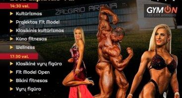 """Tarptautinis kultūrizmo ir fitneso turnyras """"Galinta cup"""""""