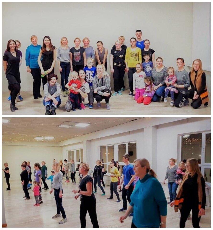 Linijiniai šokiai + vaikai