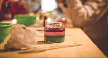Žvakių gamyba indeliuose (Vaikams)