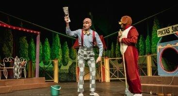 """J.Miltinio dramos teatro spektaklis vaikams """"PIFO NUOTYKIAI"""""""
