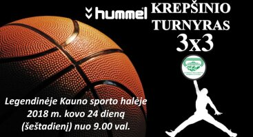 Hummel krepšinio turnyras 3x3