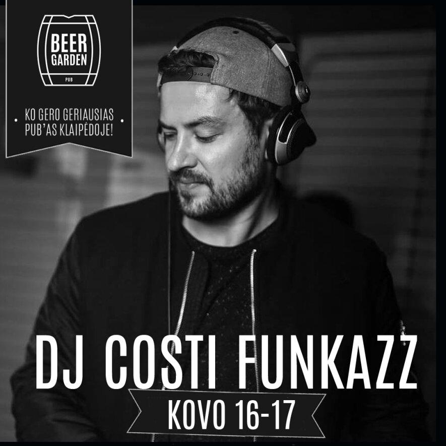 DJ CostiFunkazz @ BeerGarden