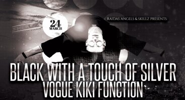 Black w/ a Touch of Silver – Kiki Function by Raidas @Skillz