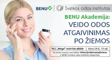 Veido odos atgaivinimas po žiemos Kaune