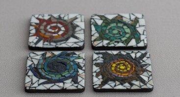 Mozaikų dirbtuvės ir pokalbis apie dvasinę ekobendruomenę