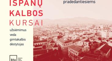 Ispanų kalbos kursai KTU Užsienio kalbų centre