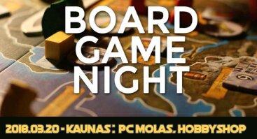 HobbyShop stalo žaidimų vakaras