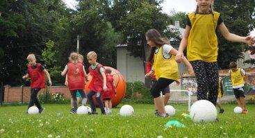 """Stovykla """"Sporto ir aktyvaus laisvalaikio vasara"""""""