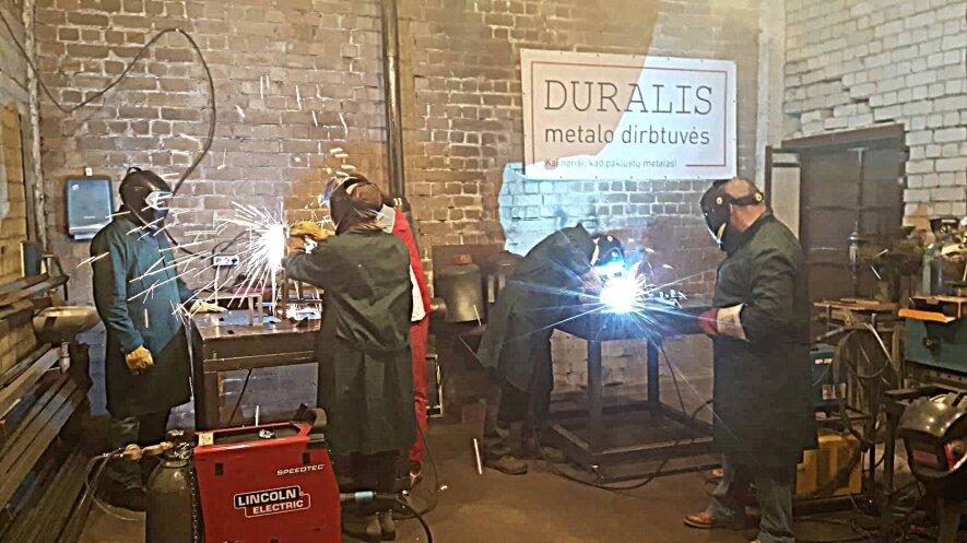 Atviros Duralio metalo dirbtuvės. TIG / PLAZMA pradžiamokslis.