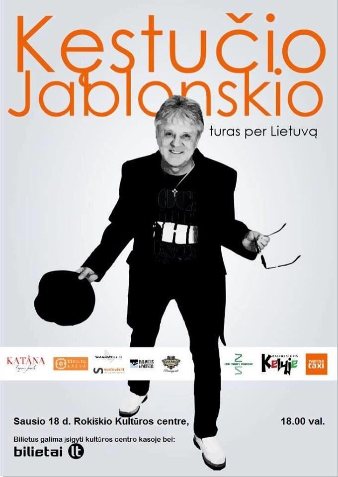 Kęstučio Jablonskio koncertas - Šiaulių arena