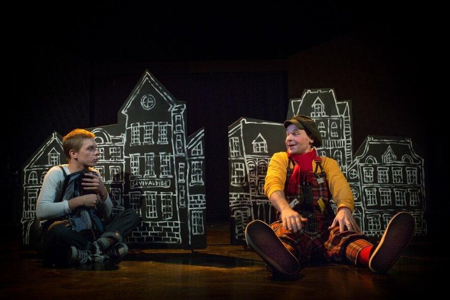 Mažylis ir Karlsonas, kuris gyvena ant stogo
