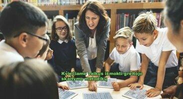 Kviečiame išmokti greitojo skaitymo metodikų