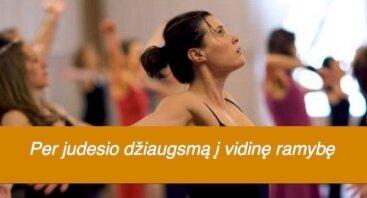 NIA judesio praktika su meditacija