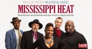 Mississippi Heat (JAV) bliuzo koncertas Panevėžyje