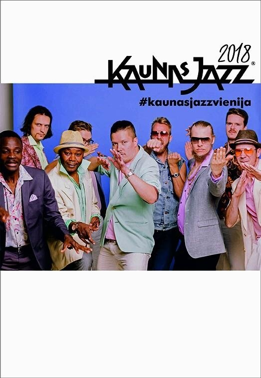 Kaunas Jazz 2018: HELSINKI-COTONOU ENSEMBLE (Suomija, Beninas, Tanzanija)