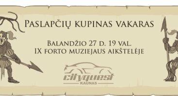 Orientacinės varžybos: Kasparas Turkšlys ir paslaptinga skrynia