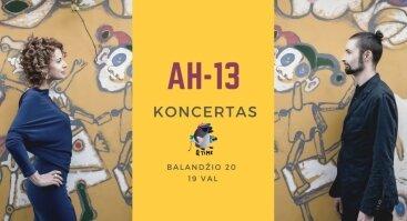 AH-13 koncertas