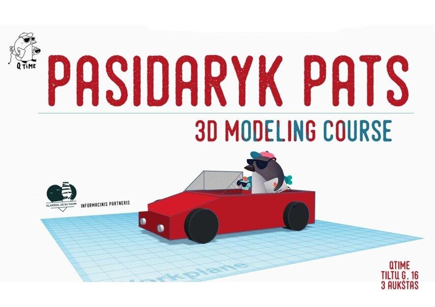 3D projektavimas pradedantiesiems