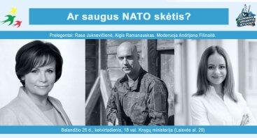 Ar saugus NATO skėtis?
