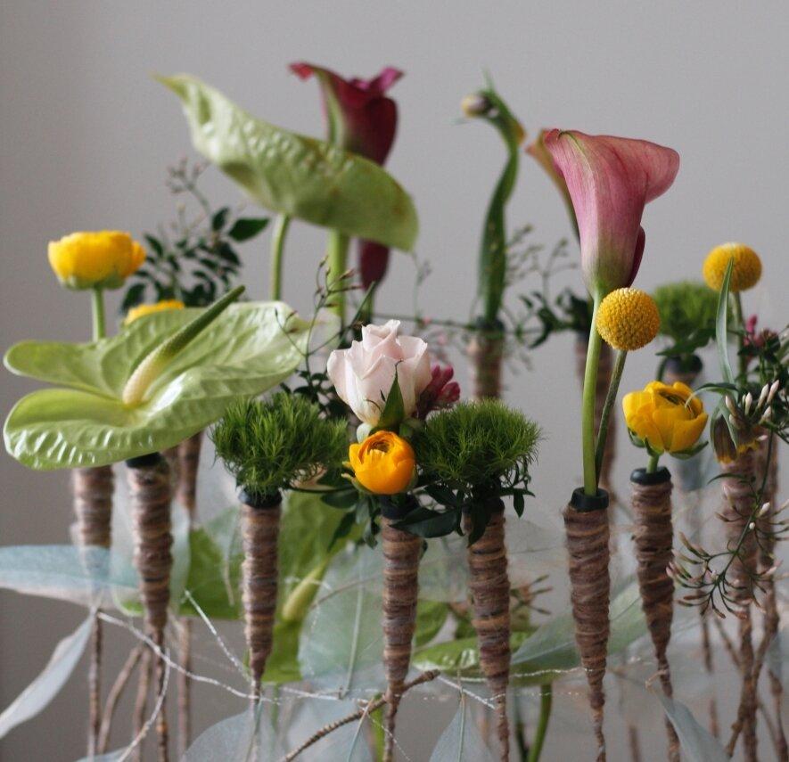 Meilės gėlės mamai! Gėlių kompozicijų dirbtuvės