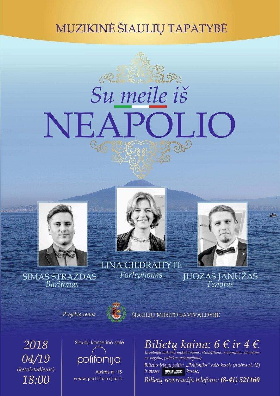Su meile iš Neapolio