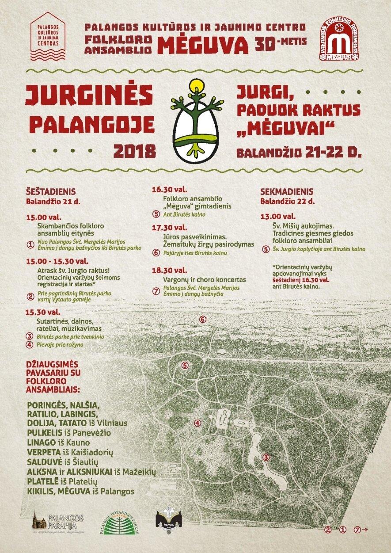 Jurginės Palangoje 2018