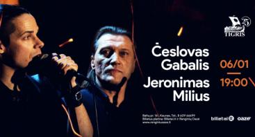 Jeronimas Milius, Česlovas Gabalis - Geriausios baladės