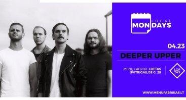 Local Mondays: Deeper Upper naujo singlo pristatymas