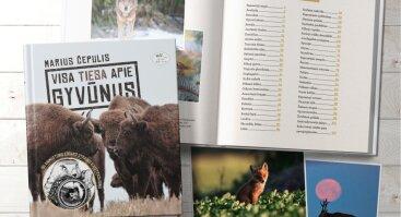 """Mariaus Čepulio knygos """"Visa tiesa apie gyvūnus"""" pristatymas"""
