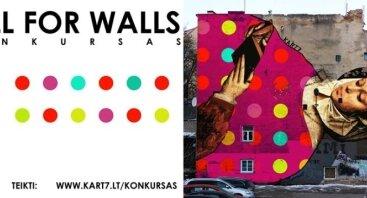 CallForWalls Gatvės freskos kūrinys Jūsų sienai