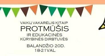 PROTMŪŠIS VAIKAMS