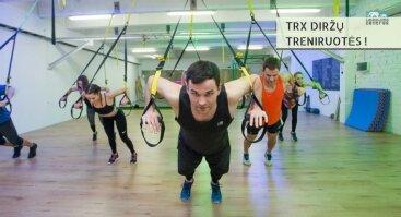 TRX diržų treniruotės!