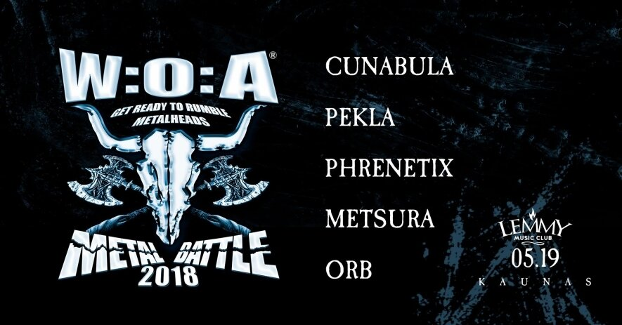 Wacken Metal Battle 2018. Finalas