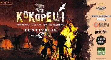 """""""Kokopelli"""" saulėgrįžos festivalis 2018"""