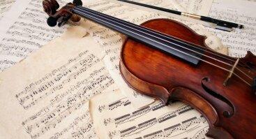 """Muzikinis vakaras """"Gražiausios smuiko melodijos"""""""