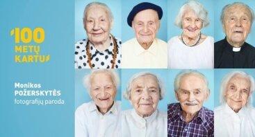 "Monikos Požerskytės fotoparoda ""100 metų kartu"""