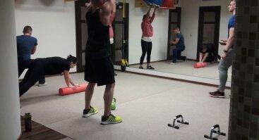 Funkcinės treniruotės ratu