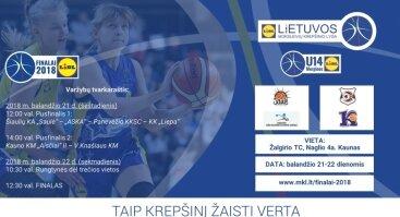 LIDL-Lietuvos moksleivių krepšinio lygos U14 vaikinų ir merginų finalo ketverto turnyrai