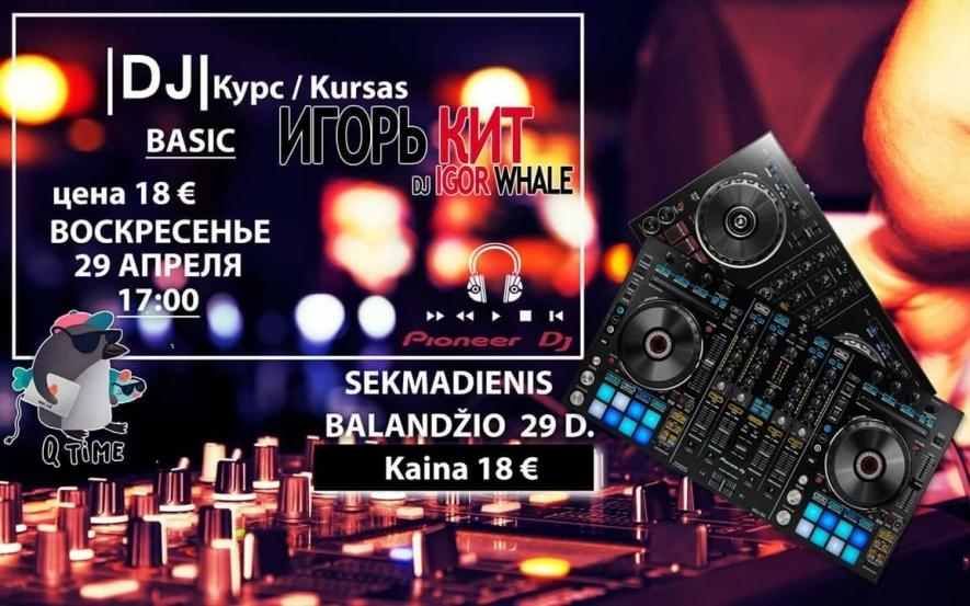 DJ kursai su DJ Igor Whale