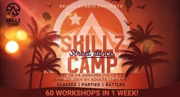 """Gatvės šokių stovykla """"SKILLZ CAMP"""""""