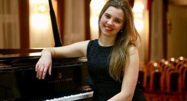 Pianistė Emilija Šukytė