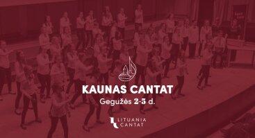 Tarptautinis chorų festivalis Kaunas Cantat 2019