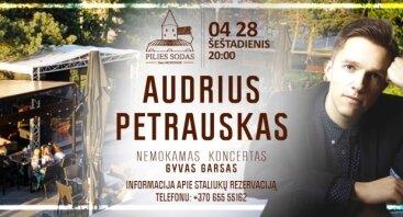 Audriaus Petrausko akustinis koncertas