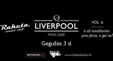 Liverpool Music Quiz - vol. 6