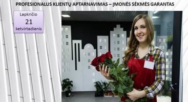 PROFESIONALUS KLIENTŲ APTARNAVIMAS – ĮMONĖS SĖKMĖS GARANTAS