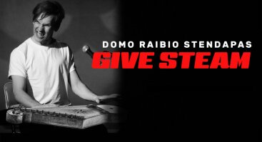 "Domo Raibio ""stand-up"" pasirodymas ""Give Steam"""