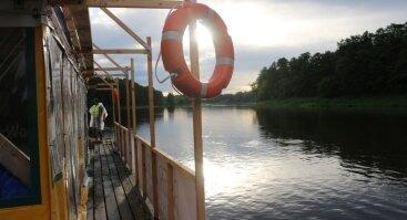 River World plaukimas Kauno mariose