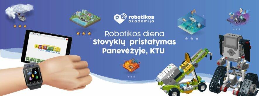 Robotikos dienos Panevėžyje