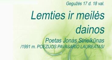 """Poezijos pavasario renginys """"Lemties ir meilės dainos"""""""